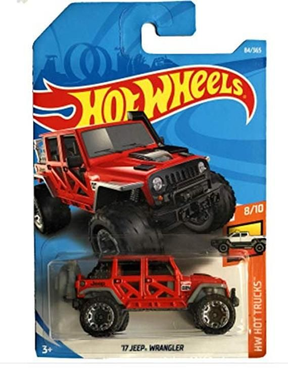 Hot Wheels 17 Jeep Wrangler Hw Hot Trucks Series Hot Wheels