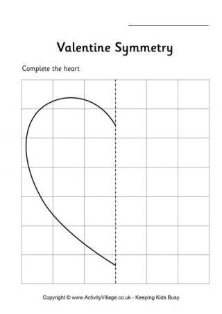 Fichas con temática de San Valentín // Valentine 's Worksheets