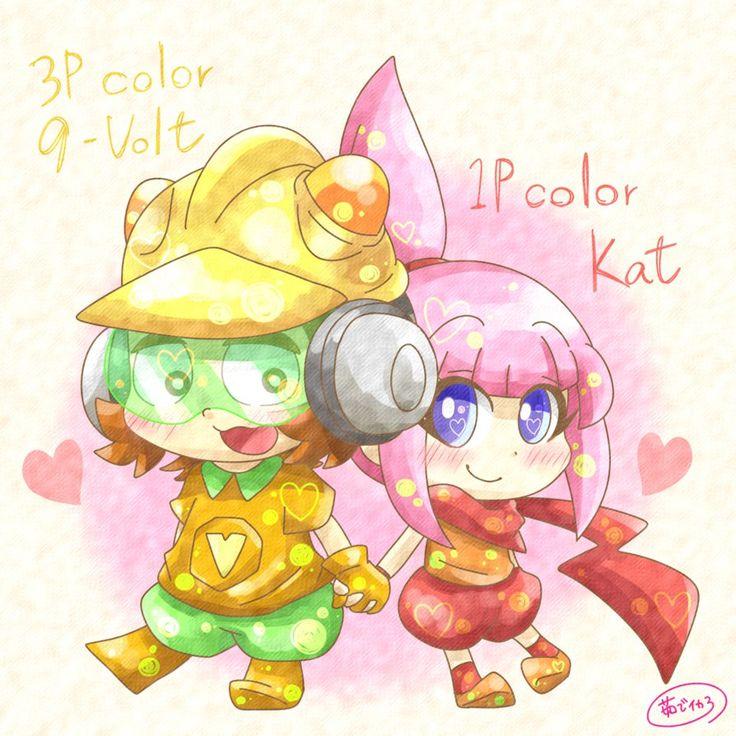 9-Volt x Kat 4 by yudeika3 on DeviantArt