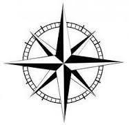 Картинки по запросу arrow compass tattoo