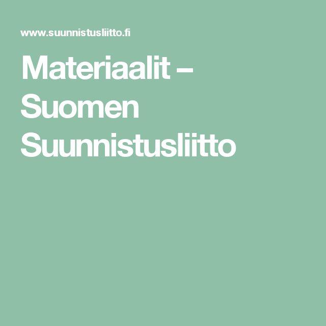 Materiaalit – Suomen Suunnistusliitto