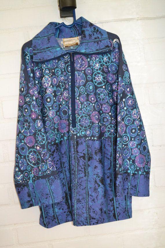 Retro fabric sew tunic / dress Maud Fredin by Scandinaviavandesign