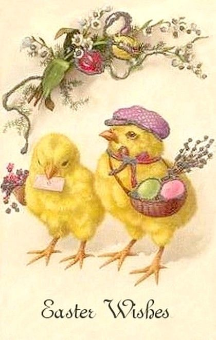Old Easter Post Card — (420x663)