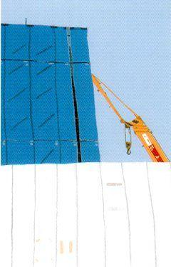 2005年個展  今ではきっと立派なビル?