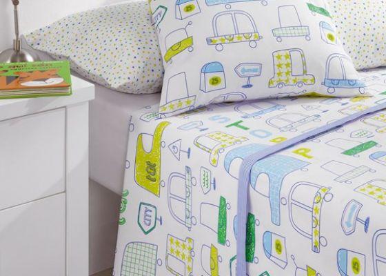 juego de sbanas cama infantil modelo traffic comprar por internet de hogar