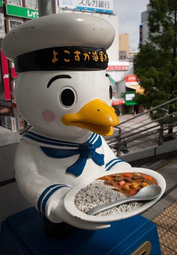 Character of Yokosuka, #Japan Sailor Curry Restaurant!  The best!