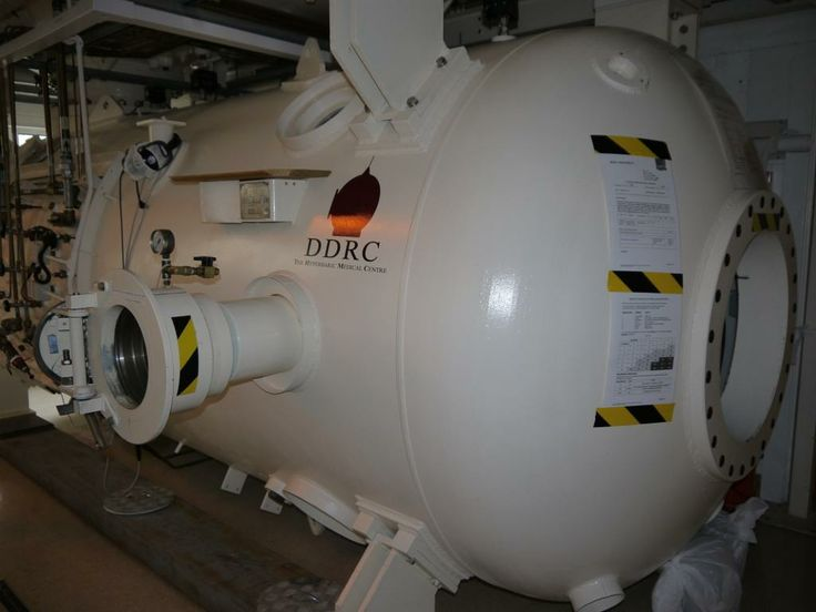 Comex chamber at Plymouth Hyperbaric Medical Centre