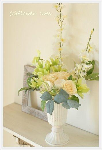 http://ameblo.jp/flower-note/entry-11624358214.html プリザーブドフラワー「三回忌のお花」