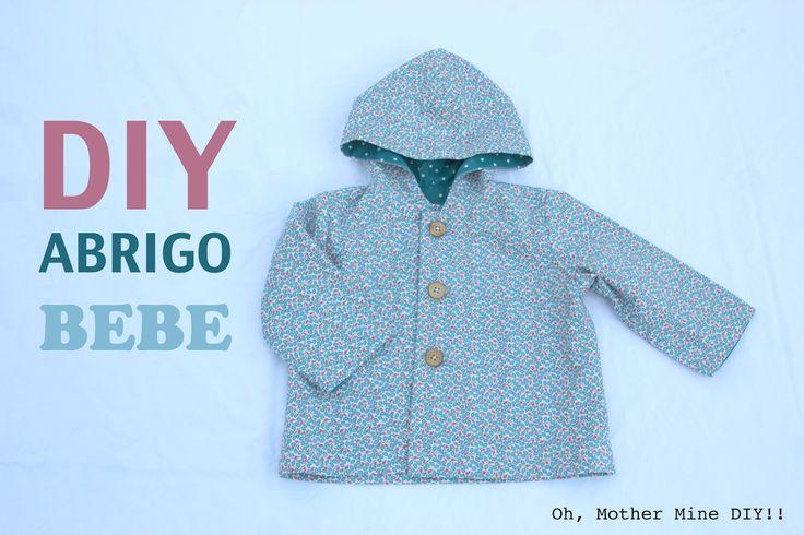 DIY Costura: Cómo hacer abrigo para bebés (patrón gratis)