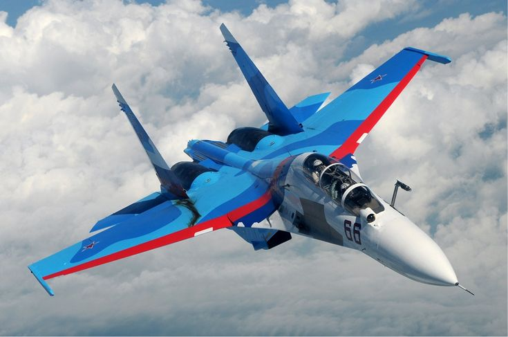 Sukhoi Su-30 of the Russian Air Force inflight over Russia in June 2010 [1023  678]