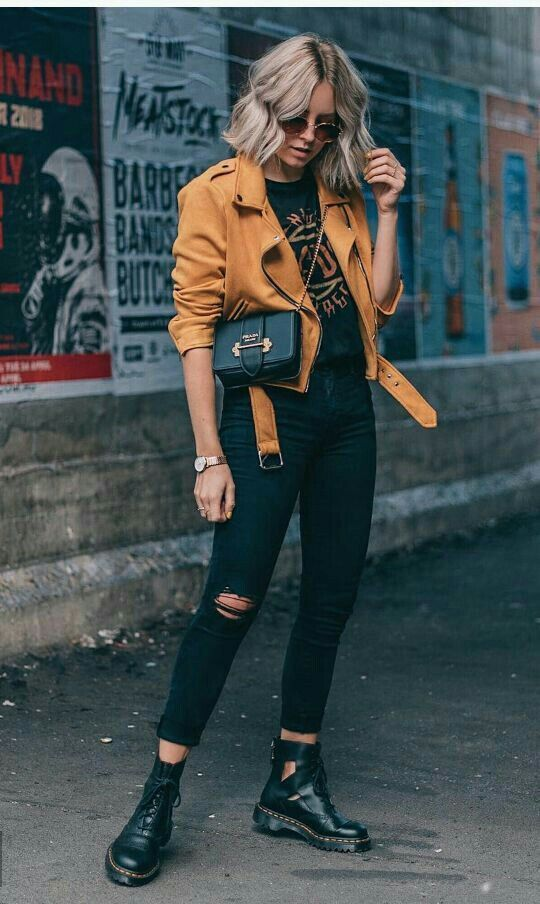 30+ Street Style Dark Shade Outfits To Try in 2019 – –
