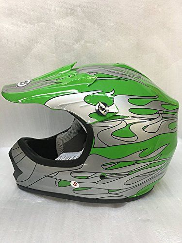 http://motorcyclespareparts.net/smartdealsnow-dot-youth-kids-helmet-for-dirtbike-atv-motocross-mx-offroad-motorcyle-street-bike-helmet-medium-green-flame/SmartDealsNow DOT Youth & Kids Helmet for Dirtbike ATV Motocross MX Offroad Motorcyle Street bike Helmet (Medium, Green Flame)