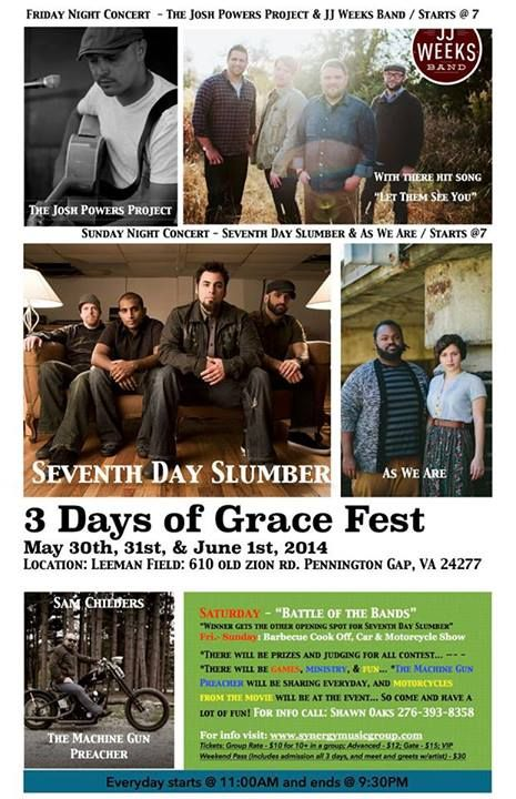 Meet MGP - Sam Childers: straight back from South Sudan and Uganda at 3 Days of Grace Festival in Pennington Gap, VA next week May 30th-31st and 1st June:Special guests 7th Day Slumber and many other