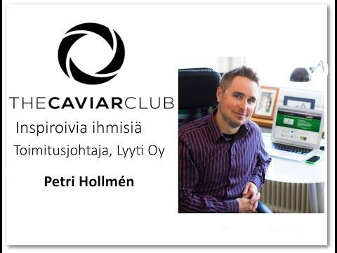 The Caviar Club - Petri Hollmén, Lyyti Oy