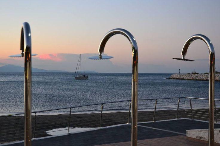 Spiaggia di Santa Teresa, Salerno  #Salerno #Spiaggia