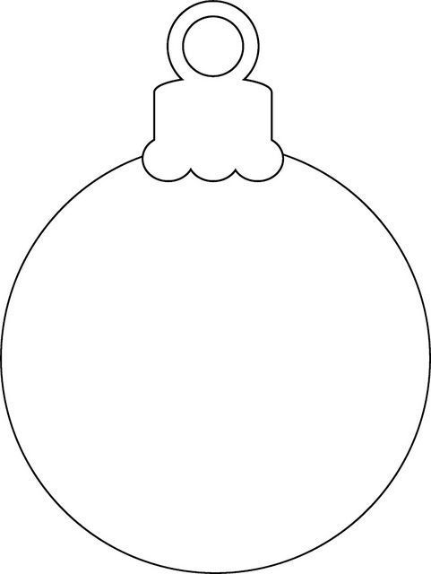 christmas ornament printable | photo