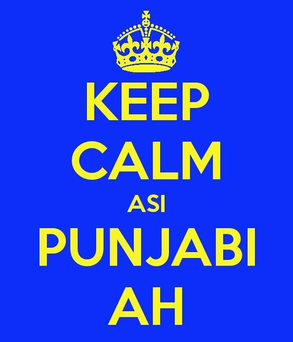 Keep Calm asi Punjabi aah
