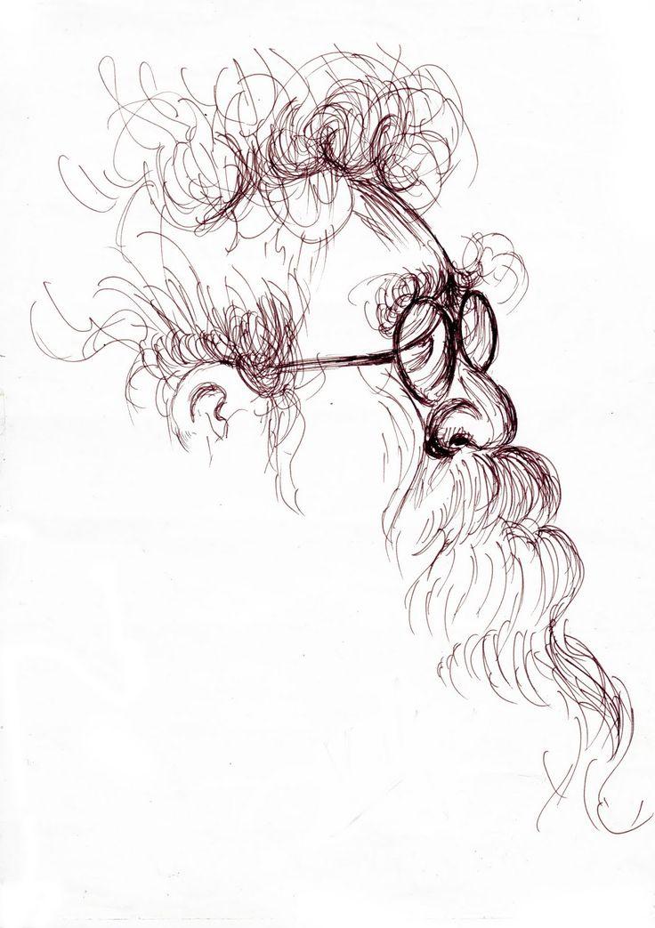 Shoelace Designs: Periyar E. V. Ramasamy (Thanthai Periyar) - Scribble Art