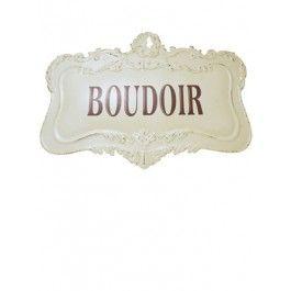 Boudoir Sign £14