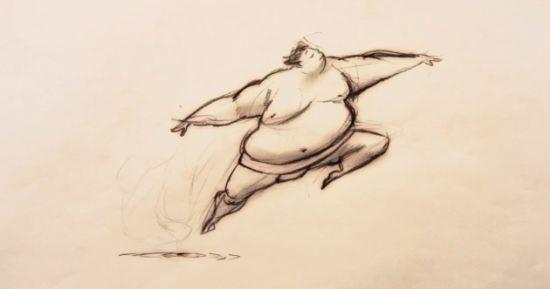 Sumo lake, animation by Greg Holfeld.