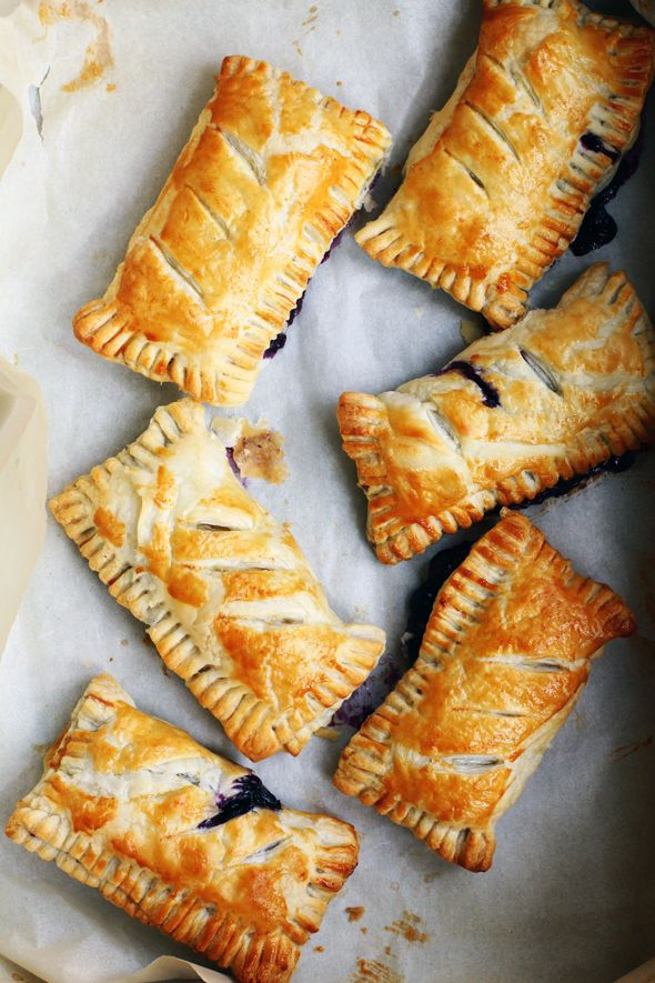 French berry and cream cheese turnovers