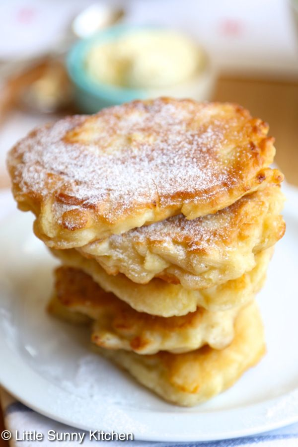 Polish Apple pancakes - this recipe is amazing!
