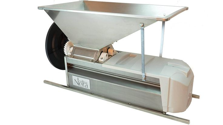 Grape Crusher and Destemmer - Stainless Steel 3,300lbs per Hour