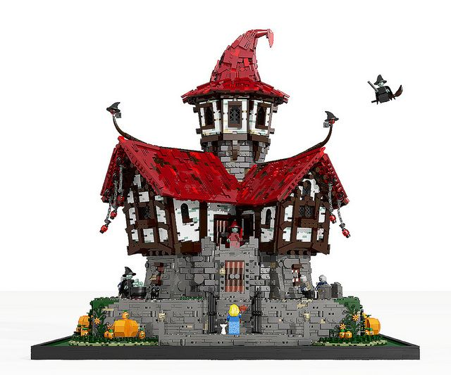 ~ Lego MOCs Fantasy ~ witch house   by oms5134