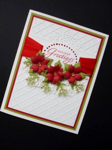 Christmas Colours by sistersandie - Cards and Paper Crafts at Splitcoaststampers