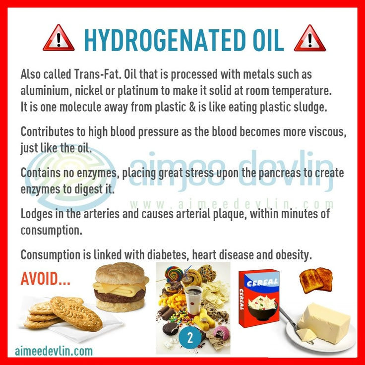Hydrogenated Oil