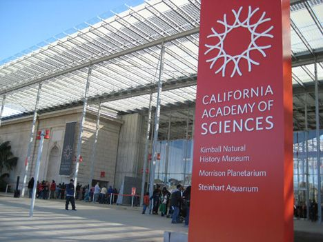 California Academy of Sciences:                       55 Music Concourse Dr