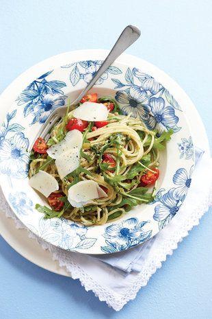 Spaghetti met pesto | SARIE | Spaghetti with pesto
