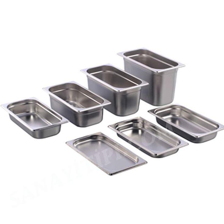 Gastronom Küvet GN (1/3) 325 x 176 mm » Mutfak Malzemeleri - Sanayi tipi