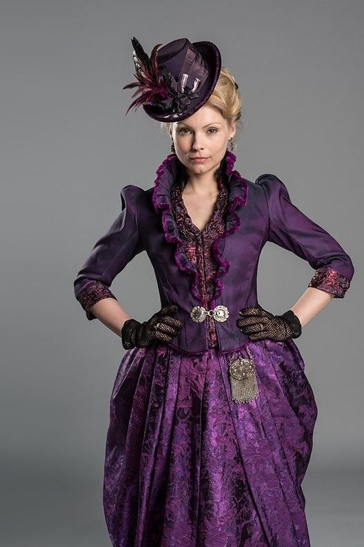 Long Susan. Love her clothes and her attitude in Ripper Street! She is so badass