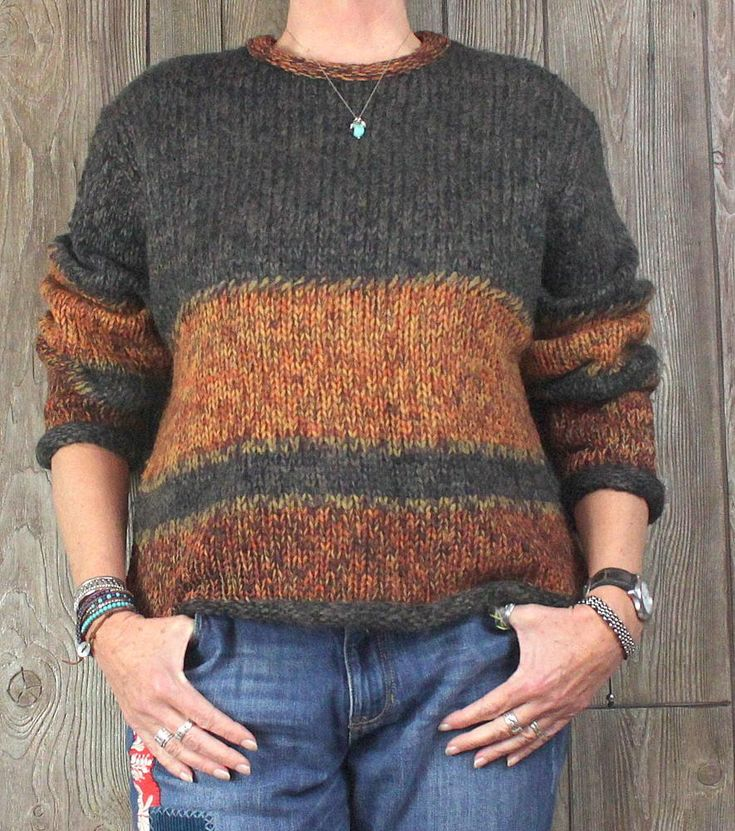 Cute Telluride Clothing Co. Sweater L Size Brown Rust