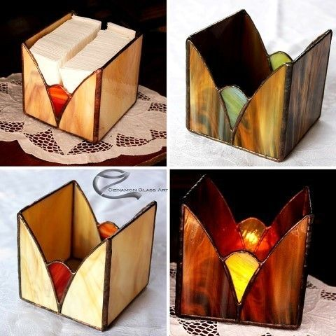 Super small tiffany glass boxes you can put into a candle this isan intimate atmosphere forwinter evenings or just fits into a pack of handkerchiefs or a paper block You'll remember before Christmas because it is a super gift idea.  #czinamon #czinamonglass #gift #idea #christmas #present #box #glass #atmosphere #interior #candle #handkerchief #colorful #instagram instapic #flat #housingculture