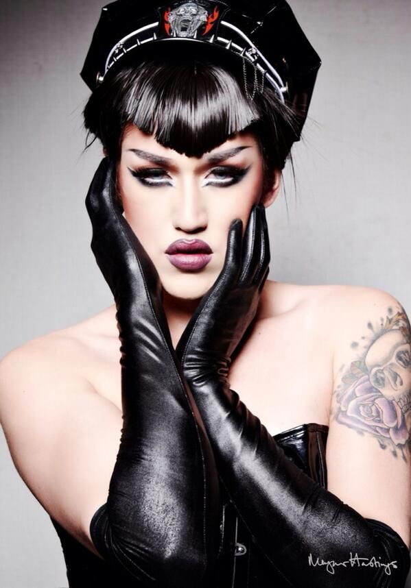 Adore Delano- god, I this  queen!  Sexxxxaaay as a boy,especially outrageous as a girl!!