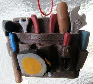 Lineman Tool Pouch Christmas Ornaments - Tool Bag