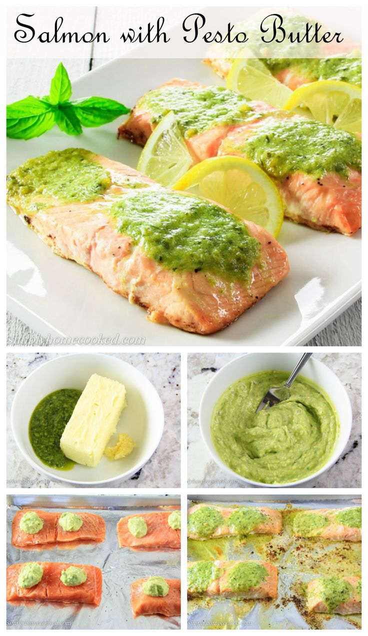 The 25 Best Pesto Salmon Ideas On Pinterest Italian