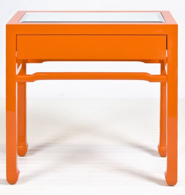 die besten 25 orange bedside tables ideen auf pinterest ikea hocker billige nachttische und. Black Bedroom Furniture Sets. Home Design Ideas