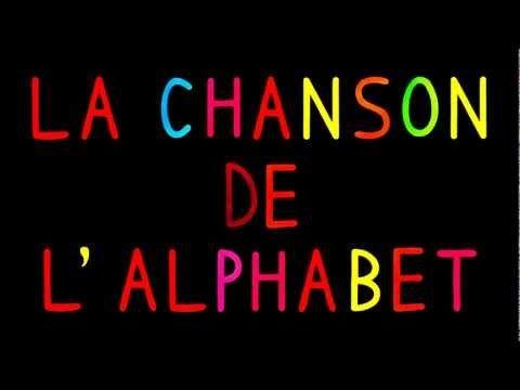Comptine: La chanson de l'alphabet