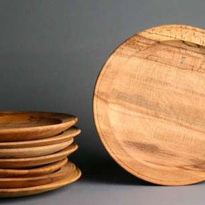Mary Rose : Beech dinner plates : like the originals found on the Tudor warship, they are made from beech.