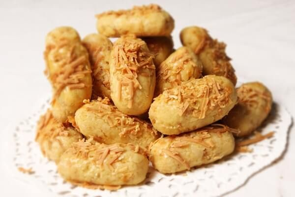 Resep Kue Kering Kastengel Keju Kraft Renyah Gurih Resep Kue Kering Resep Resep Kue