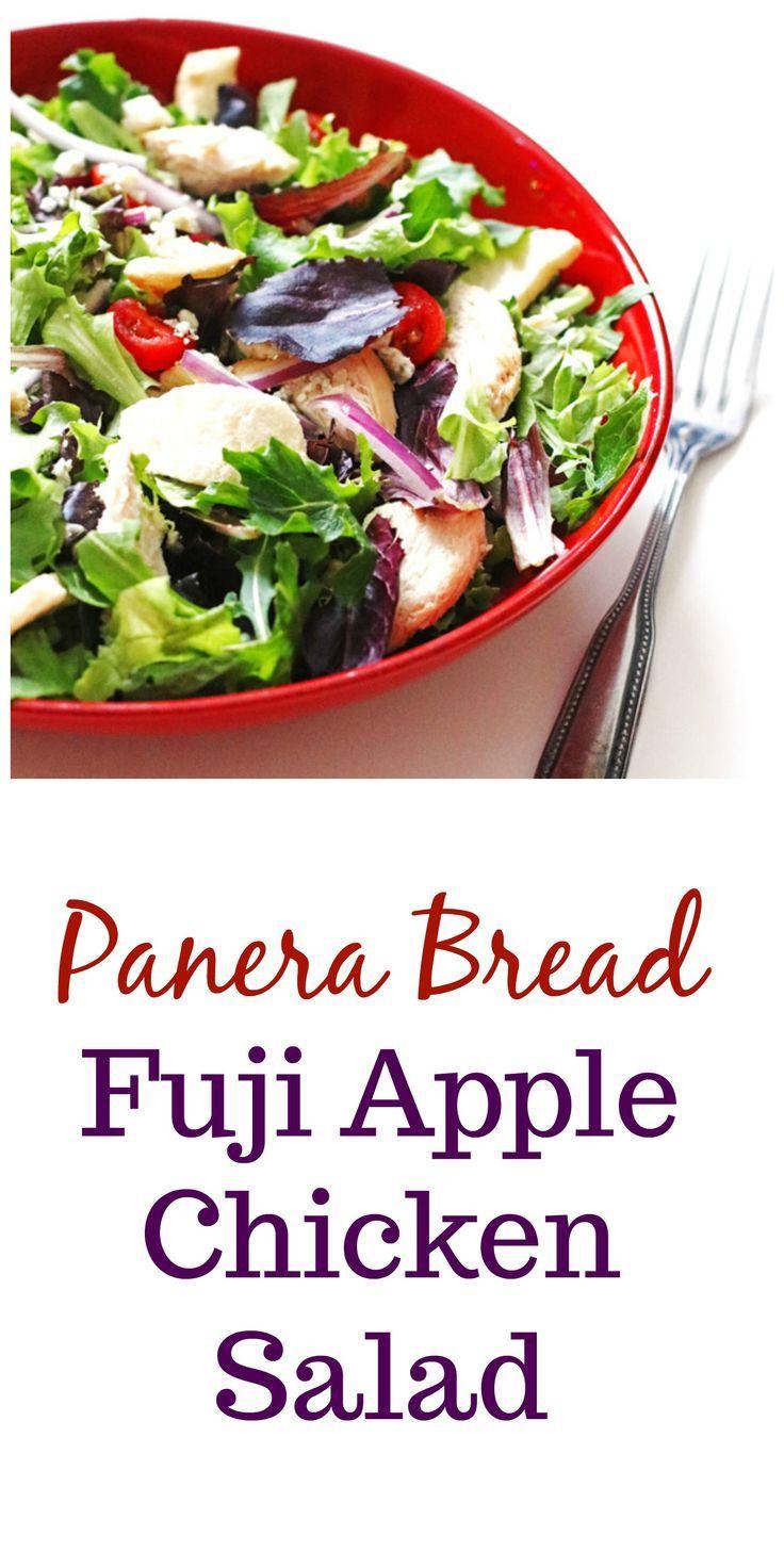 Panera Brot Fuji Apfel Hühnersalat #apfel #Brot #Fuji #huhnersalat #panera