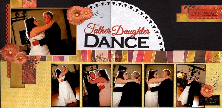 Father Daughter Dance - Scrapbook.comScrapbook Ideas, Dance Scrapbook, Scrapbook Com, Gallery, Father Daughter Dance, Layout, Image, Fathers Daughters Dance, Disney Scrapbook