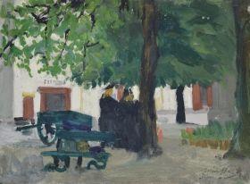 Márffy Ödön - Bruges-i részlet, 1905-1906