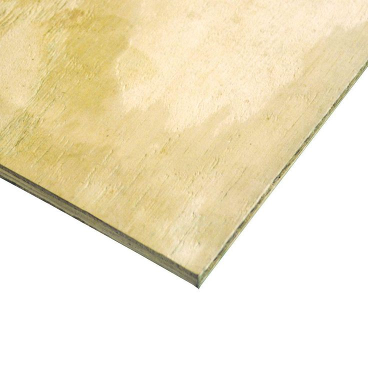 1/2 in. x 4 ft. x 8 ft. CDX Ground Contact Pressure-Treated Plywood-131876 - The Home Depot