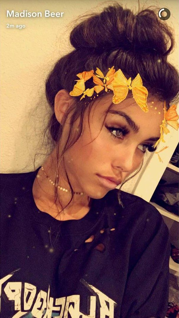 """Madison Beer is bae AF  #snapchat #beauty"""