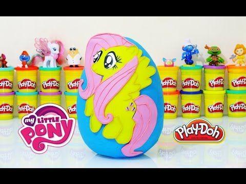 My Little Pony Fluttershy Sürpriz Yumurta Oyun Hamuru -LPS Minişler,Barb...