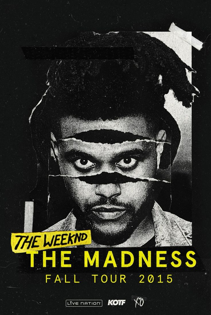 The weeknd tour dates